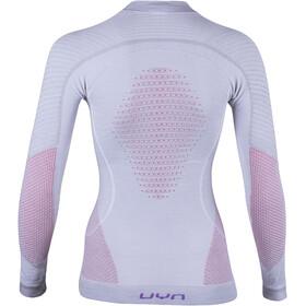 UYN Fusyon UW T-shirt à manches longues Femme, light grey/salmon/purple